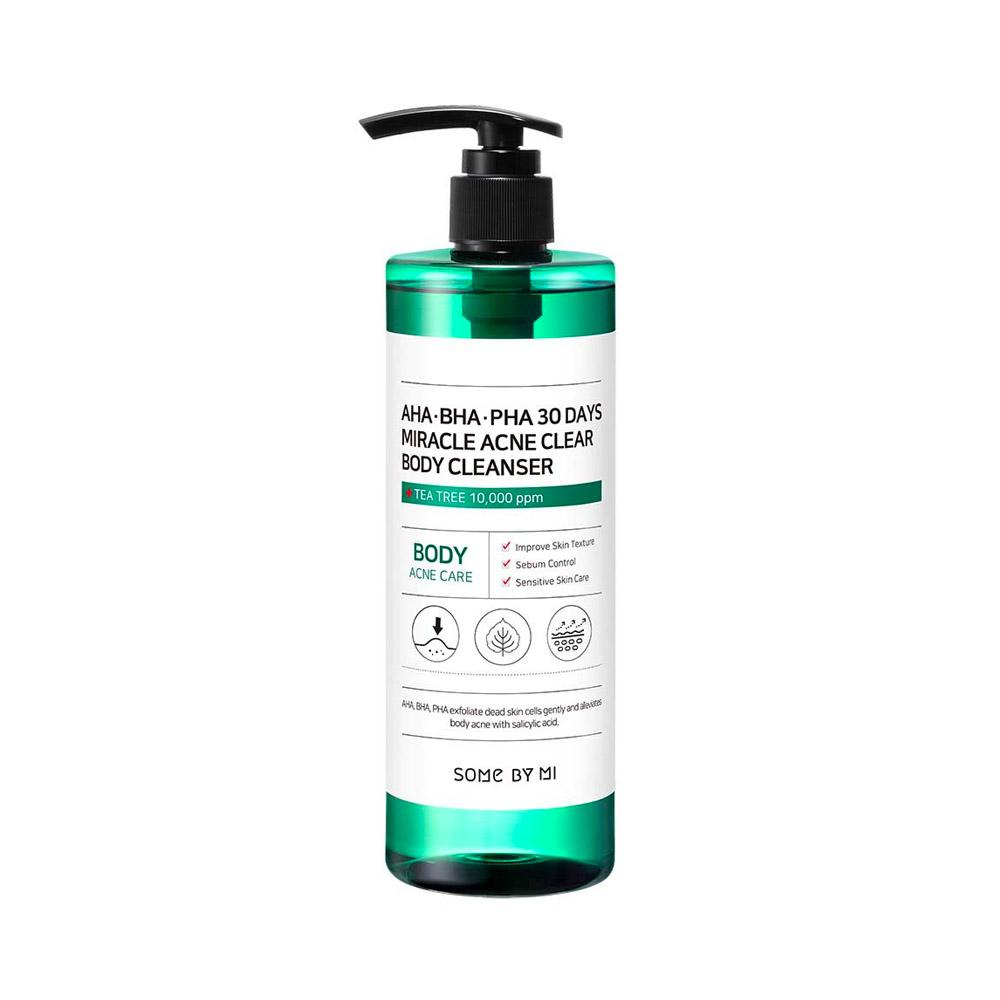 Some By Mi AHA BHA PHA 30 Days Miracle Acne Clear Body Cleanser (400ml)