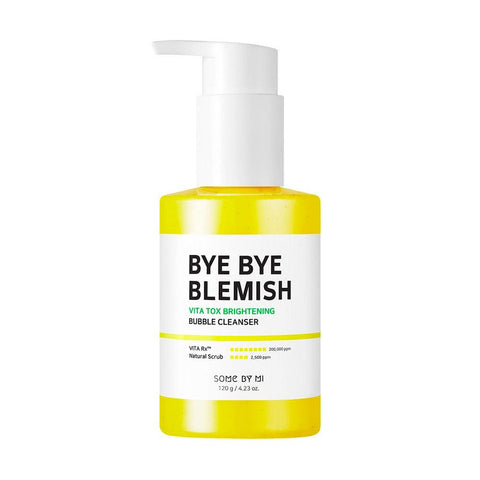 Some By Mi Bye Bye Blemish Vita Tox Brightening Bubble Cleanser (120g)