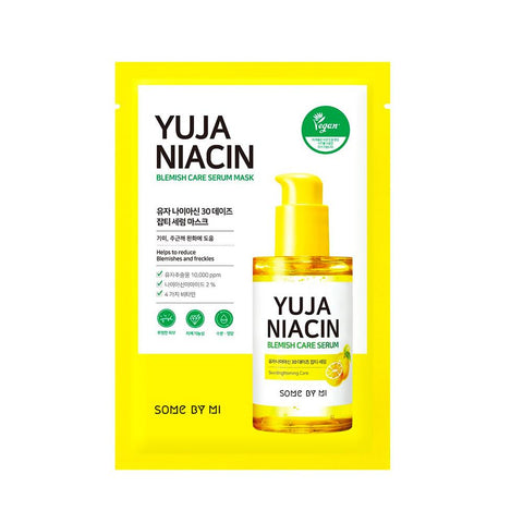 Some By Mi Yuja Niacin Blemish Care Serum Mask (1pc)