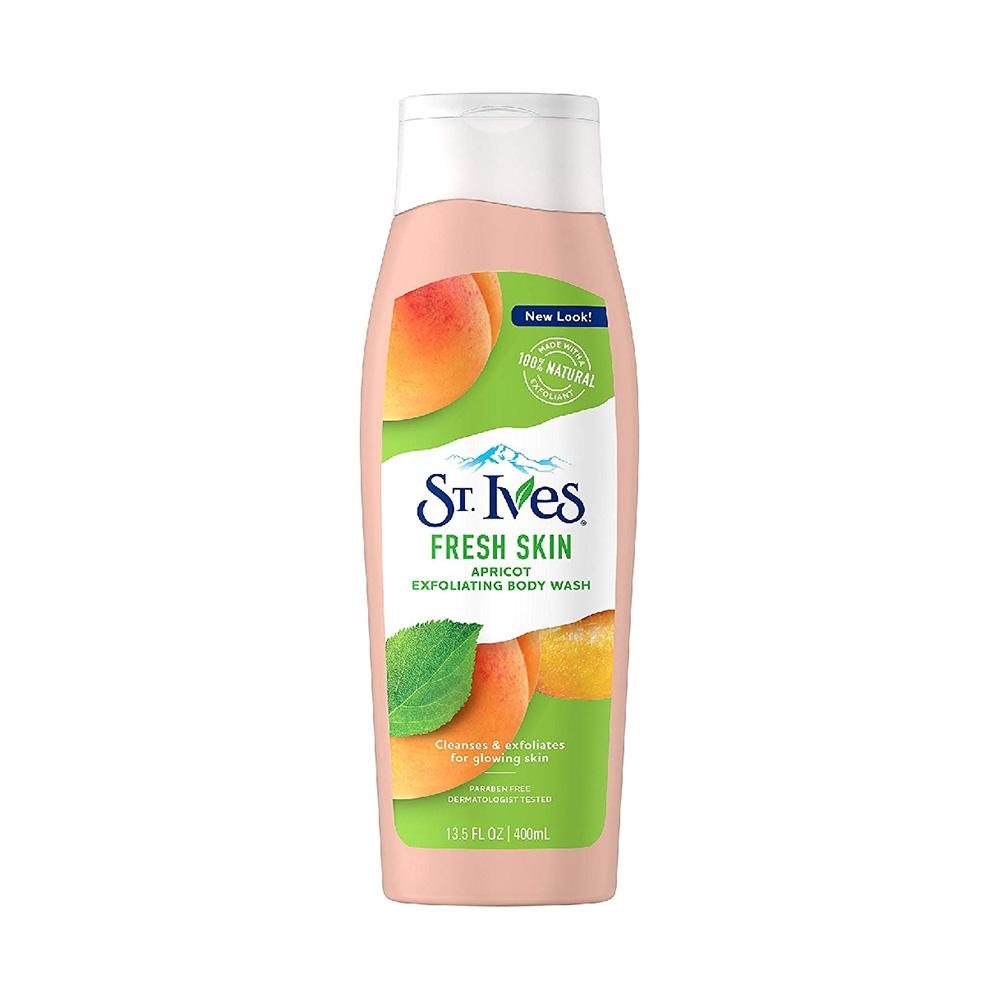St. Ives Fresh Skin Apricot Exfoliating Body Wash (400ml)