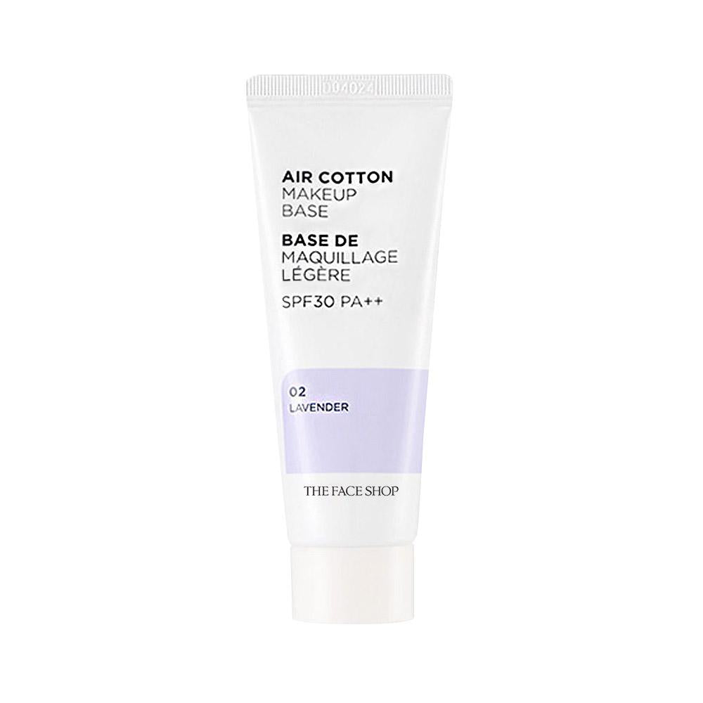 The Face Shop Air Cotton Make Up Base SPF30 PA++ #02 Lavender (35g)