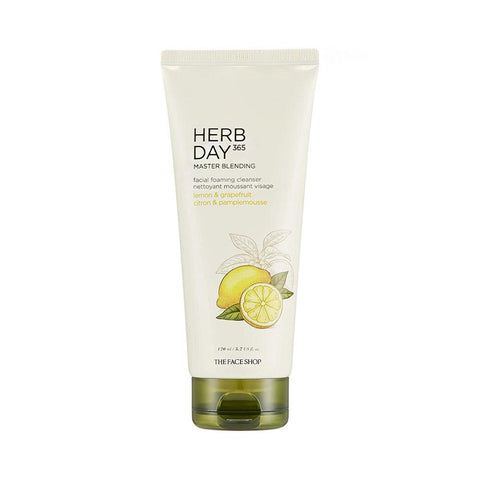The Face Shop Herb Day 365 Cleansing Foam Lemon & Grapefruit (170ml)