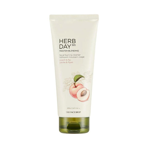 The Face Shop Herb Day 365 Cleansing Foam Peach & Fig (170ml)