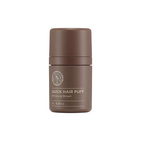 The Face Shop Quick Hair Puff #01 Natural Brown (7g)