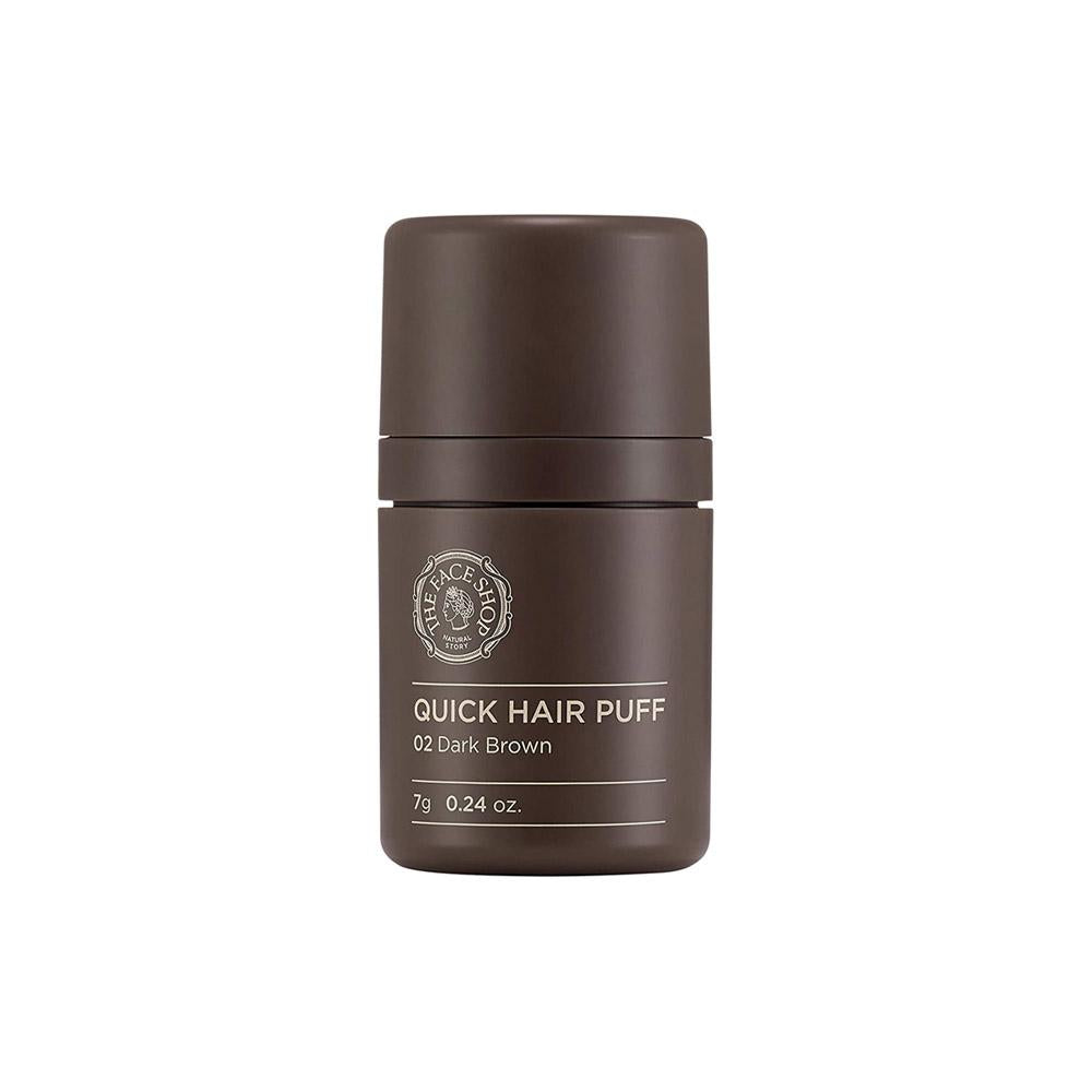The Face Shop Quick Hair Puff #02 Dark Brown (7g)