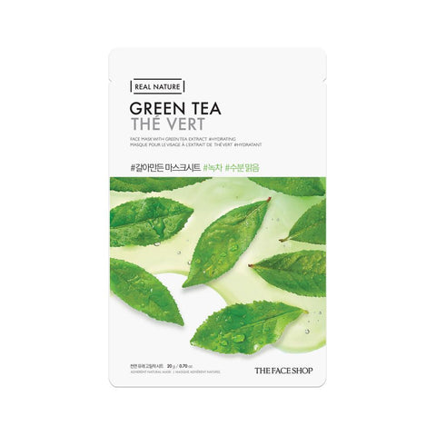 The Face Shop Real Nature Face Mask Green Tea (1pc)