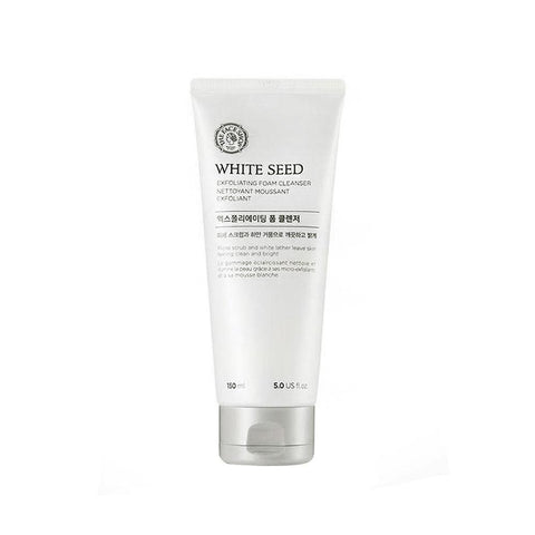 The Face Shop White Seed Exfoliating Foam Cleanser (150ml)