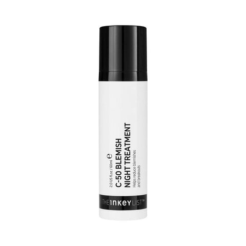 The INKEY List Supersize C-50 Blemish Night Treatment (60ml)