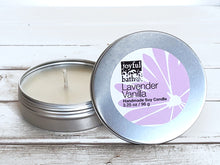 Load image into Gallery viewer, Lavender Candle Tin in 2 Sizes