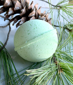 LIMITED EDITION - Merry Merry - Forest Pine Hemp Bath Bomb