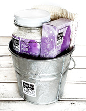 Load image into Gallery viewer, Baby Bath Bucket Gift Set in 2 Scents