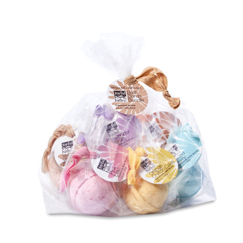 Handmade Bath Bomb Bundle - Six (6) Pack in 2 Varieties