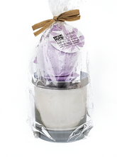 Load image into Gallery viewer, Candle & Hemp Bath Bomb in Four Scents