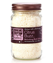 Load image into Gallery viewer, Citrus Buzz® - Pink Grapefruit & Honey Bath Salts
