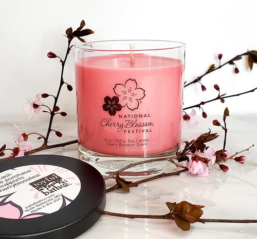 Cherry Blossom Soy Candle