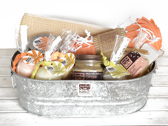 Large Hemp Bath with Aromatherapy Gift Set