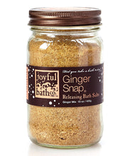 Load image into Gallery viewer, Ginger Snap® - Ginger & Coconut Milk Bath Salts