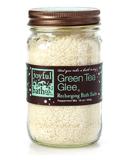 Load image into Gallery viewer, Green Tea Glee® - Green Tea & Peppermint Bath Salts