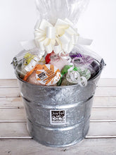 Load image into Gallery viewer, Large Hemp Bath Bucket Gift Set