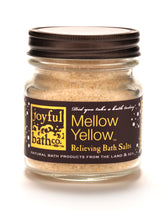 Load image into Gallery viewer, Mellow Yellow® - Eucalyptus & Mustard Seed Bath Salts