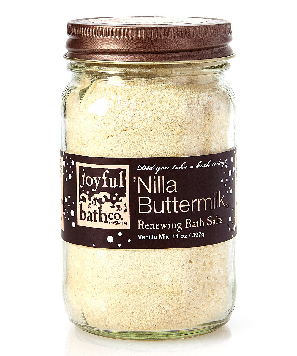 'Nilla Buttermilk® - Vanilla & Buttermilk Bath Salts