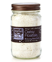 Load image into Gallery viewer, Oatsy Floatsie® - Oats & Lavender Bath Salts