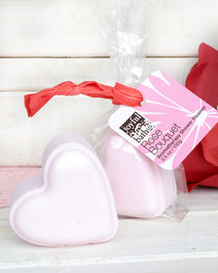 Heart-Shaped Shower Steamers in Two Scents