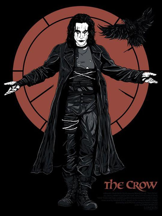 The Crow Limited Edition 18x24