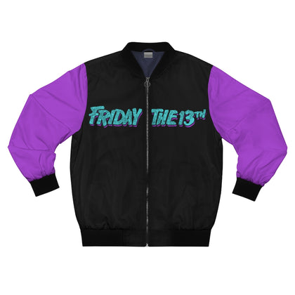 Camp 1989 Purple Bomber Jacket