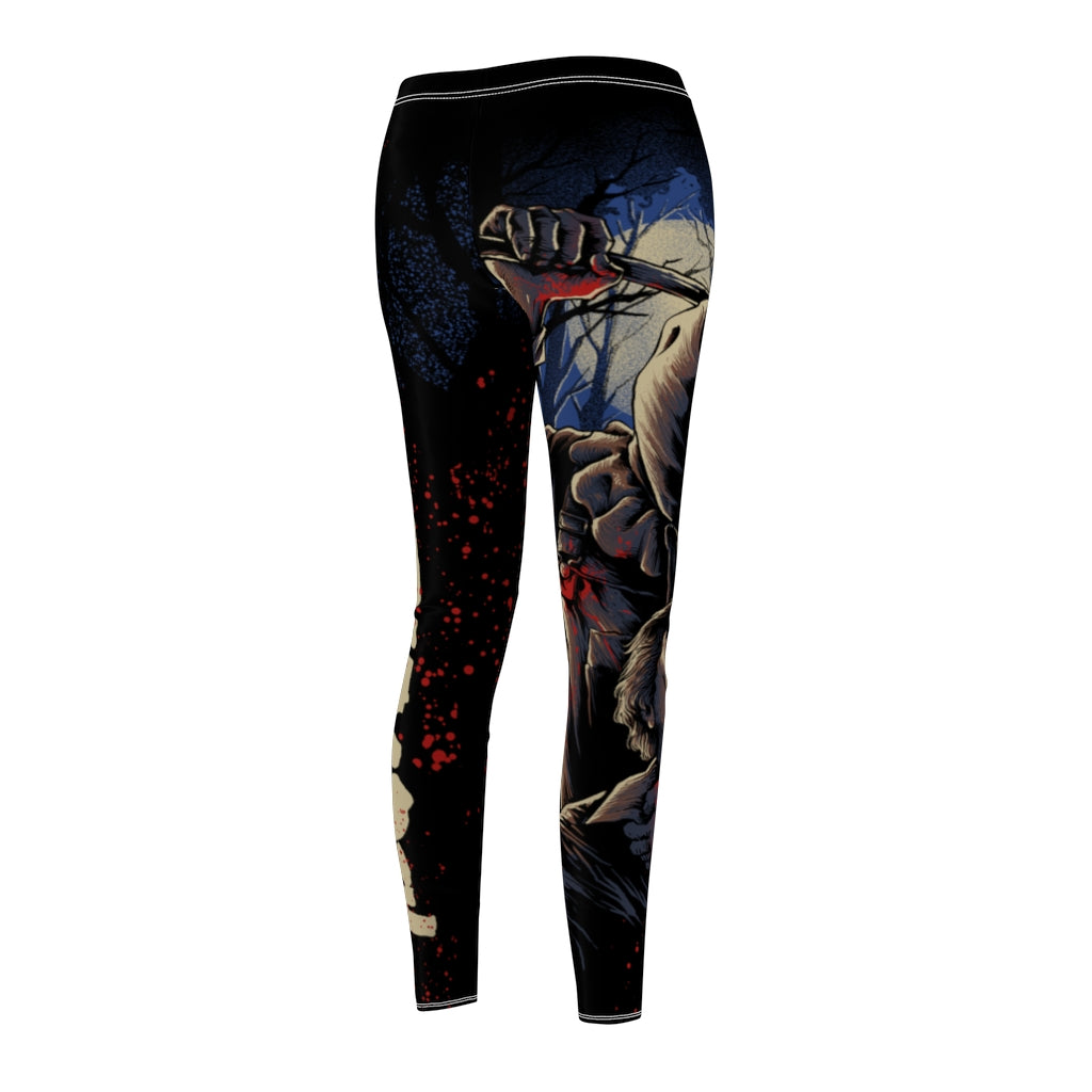 Baghead Jason Women's Casual Leggings