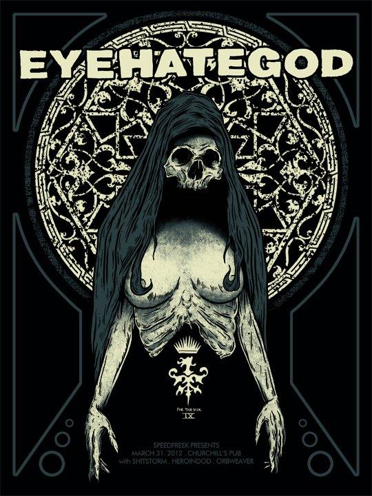 Eyehategod Limited Edition 18x24