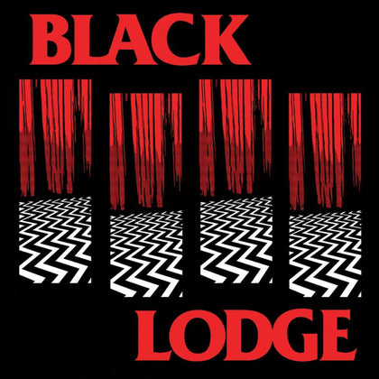 Black Lodge Vinyl Sticker