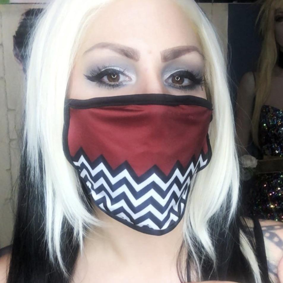 Black Lodge Face Mask