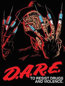 DARE Vinyl Sticker