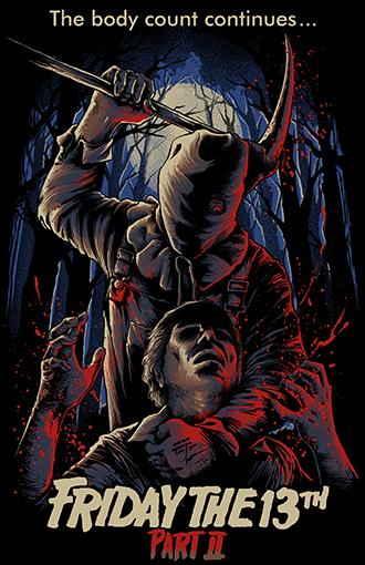 Friday the 13th Part 2 11x17