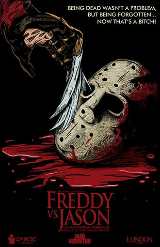 Freddy Vs. Jason 11x17