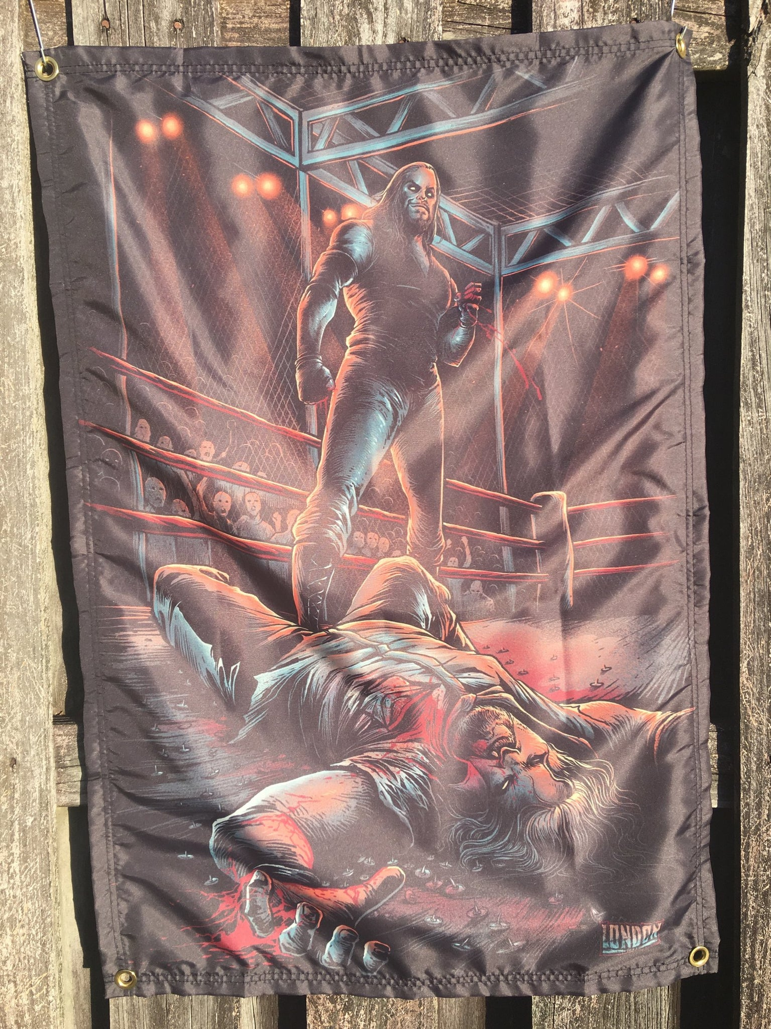 Hell In A Cell Wall Tapestry
