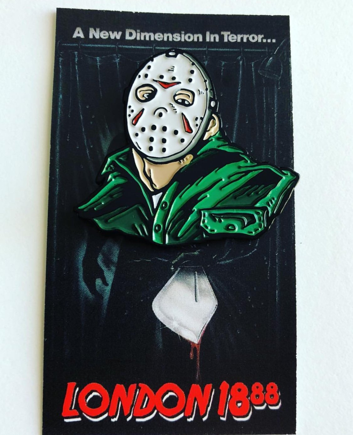 Part 3D Enamel Pin