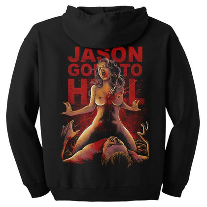 Jason Goes To Hell Zip-up Hoodie