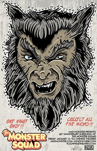 Monster Squad Wolfman 11x17