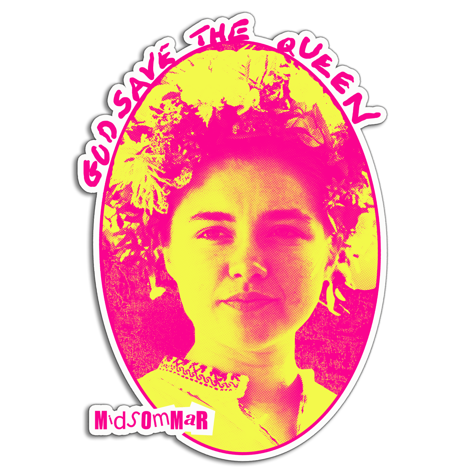 God Save The May Queen Vinyl Decal