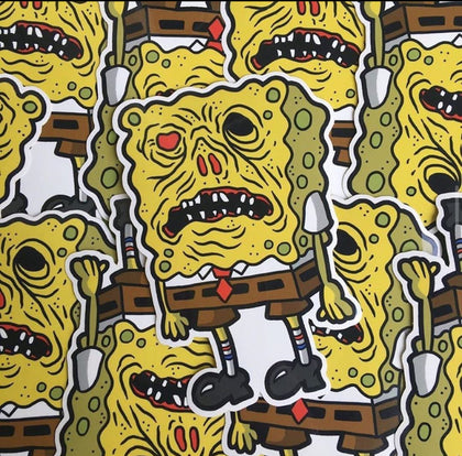 Necronomibob Vinyl Decal