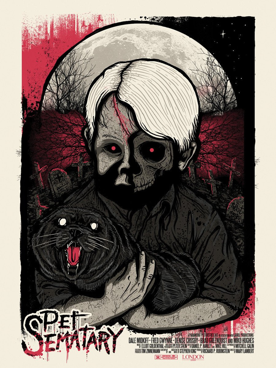 Pet Sematary Vinyl Sticker
