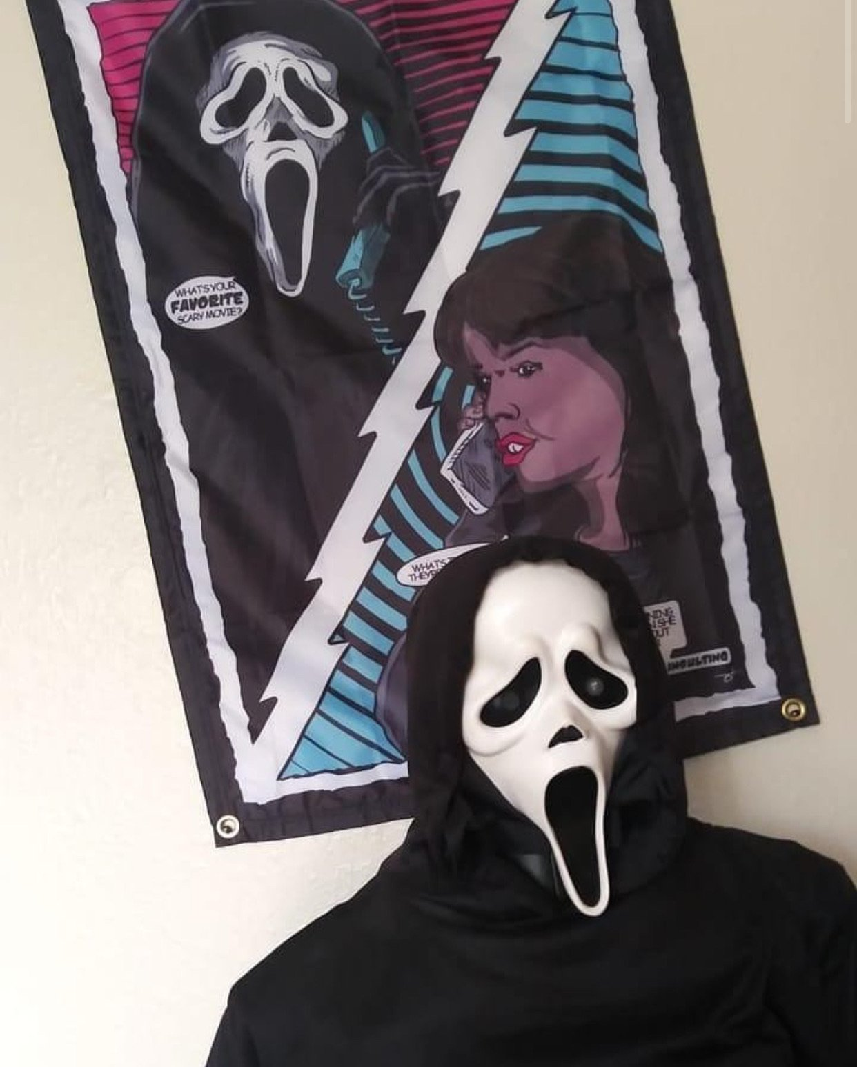 What's Your Favorite Scary Movie? Wall Tapestry