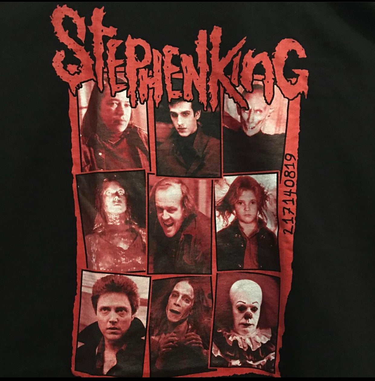 Stephen=King Shirt