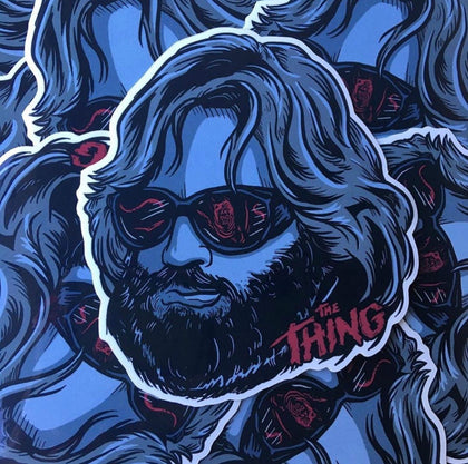 Thing Vinyl Decal