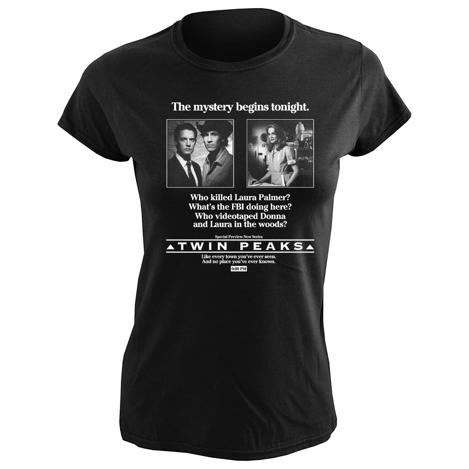 The Mystery Begins Women's Softstyle Tee