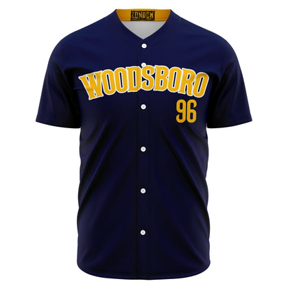 Woodsboro High School Home Baseball Jersey