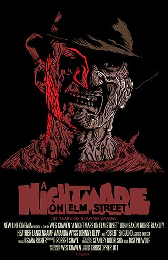 Nightmare on Elm Street 11x17