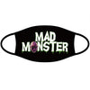 Mad Monster Green Logo Face Mask
